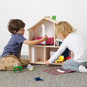 casas de muñecas ikea